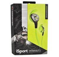 Monster iSport Intensity InEar Headphone Green High Performance Audio