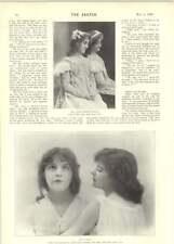 1899 Fluffy And Muffy Teasing Girl Miss Daisy Harris Sedger