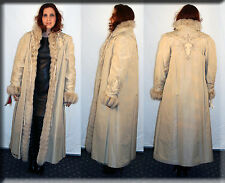 New Rain Coat with Russian Lynx Fur Lining - Size Small 2 4 S - Efurs4less