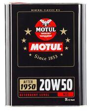 OLIO MOTORE MOTUL 20W-50 2L