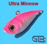 Meeresjig Ultra Minnow Dorschbombe 12g - 75g, Jig Bleikopf Kopf Flexi Kopf.