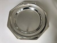 Vintage Christofle Silverplate Serving Tray 12.5in