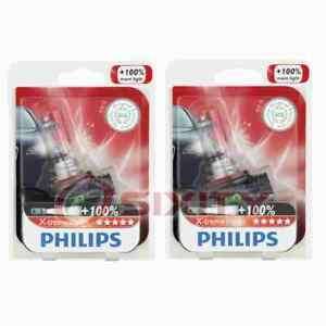 2 pc Philips Daytime Running Light Bulbs for Cadillac SRX 2010-2016 wb