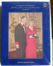 MARRIAGE THE PRINCE OF WALES  MRS CAMILLA PARKER BOWLES 500 PIECE JIGSAW PUZZLE