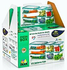 PlastArt 5385 Fresh Box Combi Set, Food Storage Container Set in Assorted Shapes