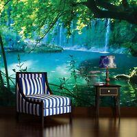 Fototapete Wasserfall Thailand Natur Grun Landschaft Wohnzimmer Wald Wasser See