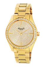 Kenneth Cole Classic Gold Yellow Tone Damenuhr KC4957 Analog  Edelstahl Gold
