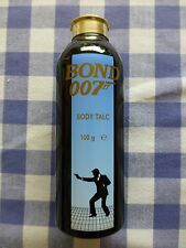 Bond 007 - Body Talc - Early 1990's era. Empty, can in lovely condition
