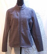 Royal Robbins Women's Large Grey Wool Blend Washable Jacket
