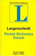 Langenscheidt French Pocket Dictionary: French/English/English/French (Langensc