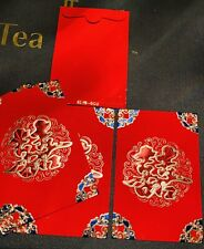Wedding Chinese Red Envelopes (Pack of 6)