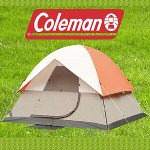 Coleman Hiking Camping Travelling Sleeping Tent Canopies For 2 Persons