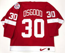 CHRIS OSGOOD DETROIT RED WINGS AUTHENTIC NIKE 1998 STANLEY CUP JERSEY SIZE 52