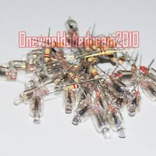 20Pcs Neon Indicators Sign Bulbs 6X16mm Lamps 6mm Lights w/ Resistor Lampada