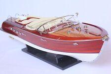 "RIVA AQUARAMA BOAT MODEL 21"" (53cm) - Wood Wooden Speed Boat"