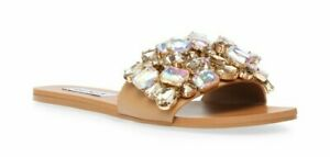 Steve Madden Brionna Rhinestone in Tan Multi choose your size from the size menu