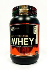 Optimum Gold Standard 100% Whey Protein 2 lb, 28 Servings GINGERBREAD SALE
