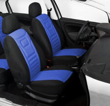 2 BLUE HIGH QUALITY FRONT CAR SEAT COVERS PROTECTORS FOR BMW 1 SERIES