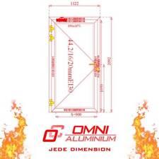 Brandschutztür, 1-flg, T30 ,1122mm x 2092mm, mehrere Farbe, BESTE QUALITET!!!