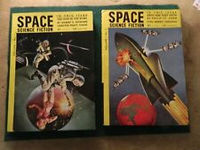 Vintage Space Science Fiction digests British editions from 1952