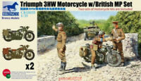 Bronco 1/35 35035 Triumph 3HW Motorcycle with MP crew