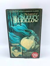 Magnum VHS The Legend of Sleepy Hollow Jeff Goldblum 1985