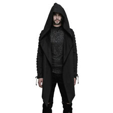 Punk Rave Gothic Goth Okkult Jacke Mantel Umhang Cape - Omen Hoodie