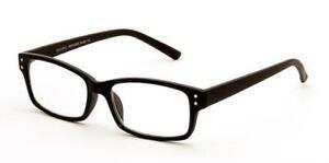 Eyelevel black Mens Reading Glasses Duke Style 1.25 1.50 2.00 2.50 3.00 3.50
