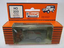 Roco Minitanks 223 Dodge Sanitätsfahrzeug WS58