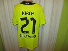 """Borussia Dortmund Puma Heim Trikot 2013/14 """"EVONIK"""" + Nr.21 Kirch Gr.XL TOP"""