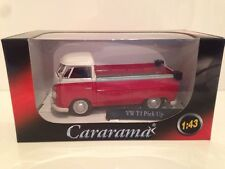 VW T1 Pick Up Red & White Cararama 13440 - 1:43 New