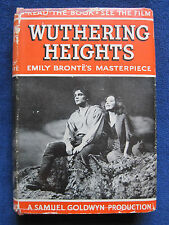 WUTHERING HEIGHTS - VINTAGE Photoplay LAURENCE OLIVIER, MERLE OBERON Film