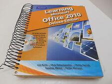 LEARNING MICROSOFT OFFICE 2010 DELUXE ED. PEARSON ISBN-13: 978-0-13-510840-6