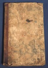 1817 The Family Clerk and Student's Assistant by James Maginness HC Bookkeeping