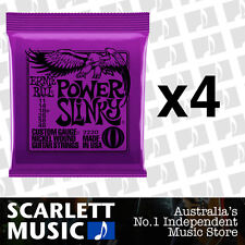 4x Ernie Ball Power Slinky 11-48 Electric Guitar Strings *SET OF 4 PACKS*