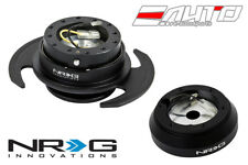 NRG Steering Wheel Short Hub SRK-160H + Black Gen3 Quick Release w/ Black Ring