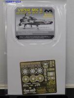 PARAGRAFIX 1/32 Battlestar Galactica: Viper Mk II Photo-Etch & Decal  PGX125