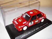 RPT13M voiture 1/43 IXO Rallye PORTUGAL : LANCIA DELTA HF 4WD Bica 1988 #18
