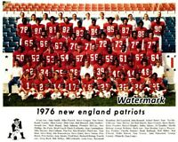 NFL 1976 New England Patriots Color Team Picture 8 X 10 Photo Picture