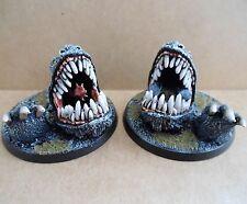Terrafin horror Reaper Pro Pintado Monster Pathfinder Bulette Land Shark Bestia