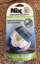 Nix Electronic Lice Comb Detects Destroys Lice on Contact Chemical Free S/H FREE