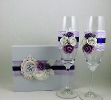 Wedding Set, Hochzeitsgläser, Wedding Candles, Gift