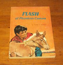 Vintage FLASH OF PHANTOM CANYON, Agnes Ranney, ScholasticPB 1ST PRT 1963