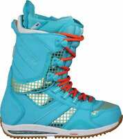 BURTON Women's SAPPHIRE Snowboarding Boots - BlueSteelDisco - US Size 6.5 - NIB