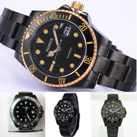 Parnis Miyota Automatic Mechanical Men Watch Sapphire Crystal Stainless Band