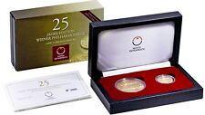Euro-Gedenkmünzen aus Österreich mit Gold
