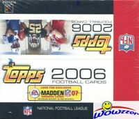 2006 Topps Football MASSIVE 24 Pack Factory Sealed Retail Box-288 Cards!