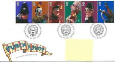 wbc. - GB - FIRST DAY COVER - FDC - COMMEMS -2001- PUNCH and JUDY - Pmk TH