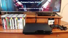 CONSOLE PS3 PLAYSTATION 3 150 GB + 18 GIOCHI + CAVO FULL HD 1080p + JOYSTICK