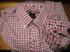 TailorByrd Men's Casual Button Front Shirt Sz med